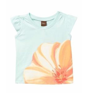 Tea Collection Large Flower Graphic Tee Baby